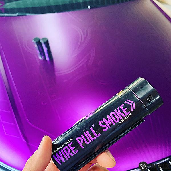 Audi A7 WMR purple grape, Carwrapping door Wrapmyride.nu Foto-nr:13677, ©2021