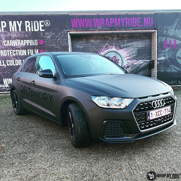 Audi A1 2019 Deltaworx, Carwrapping door Wrapmyride.nu Foto-nr:12926, ©2021