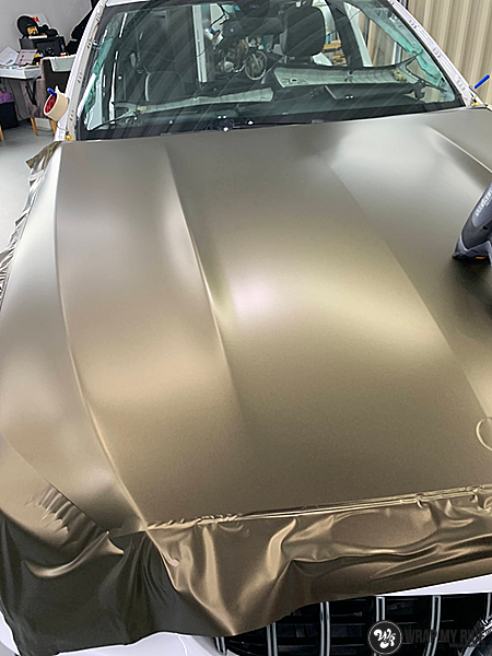 Ferrari California satin dark grey, Carwrapping door Wrapmyride.nu Foto-nr:13853, ©2021