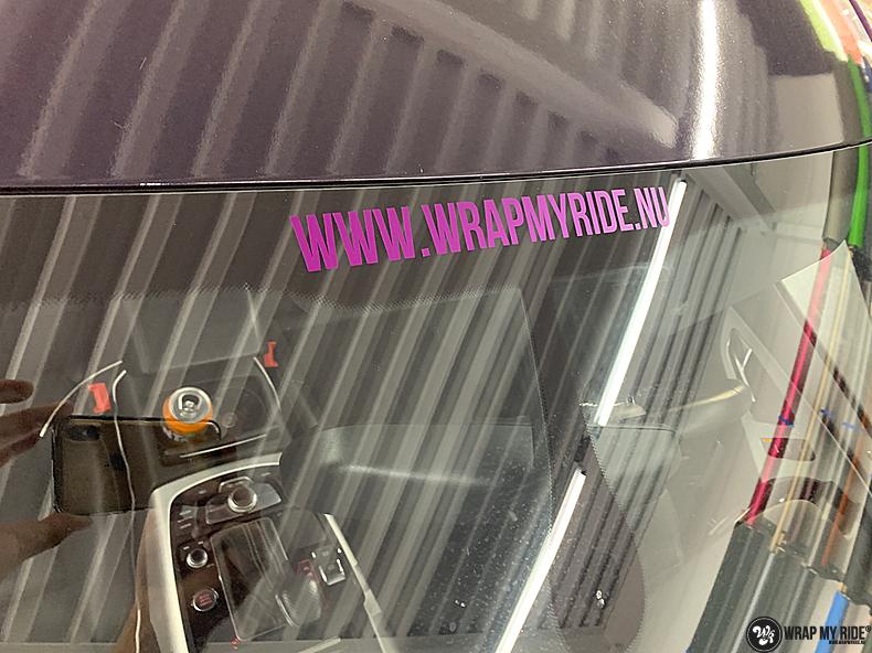 Audi A7 WMR purple grape, Carwrapping door Wrapmyride.nu Foto-nr:13684, ©2021