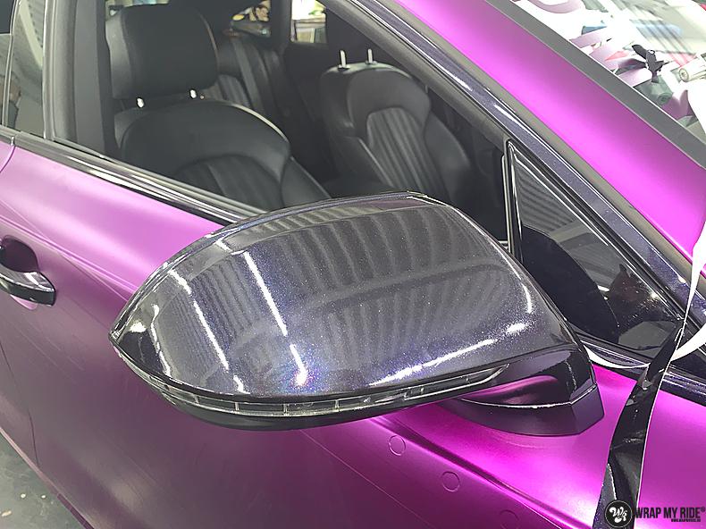 Audi A7 WMR purple grape, Carwrapping door Wrapmyride.nu Foto-nr:13680, ©2021
