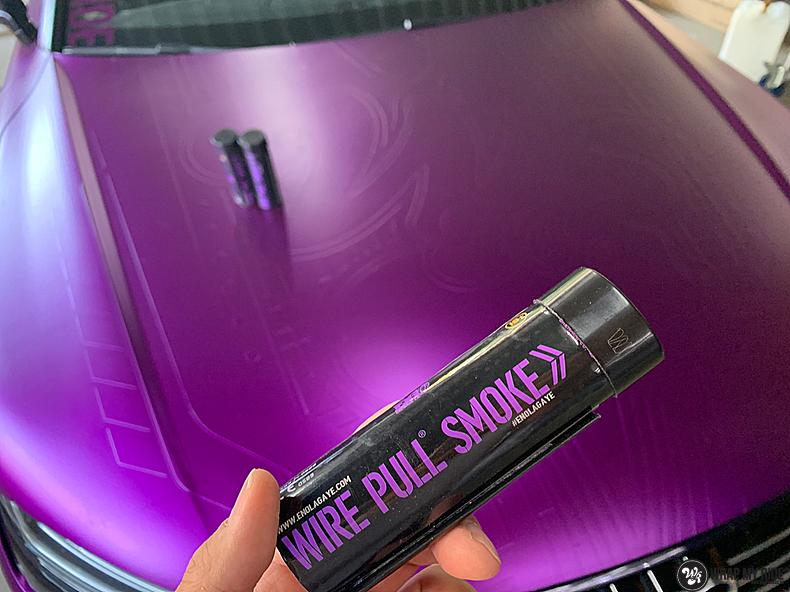 Audi A7 WMR purple grape, Carwrapping door Wrapmyride.nu Foto-nr:13678, ©2021