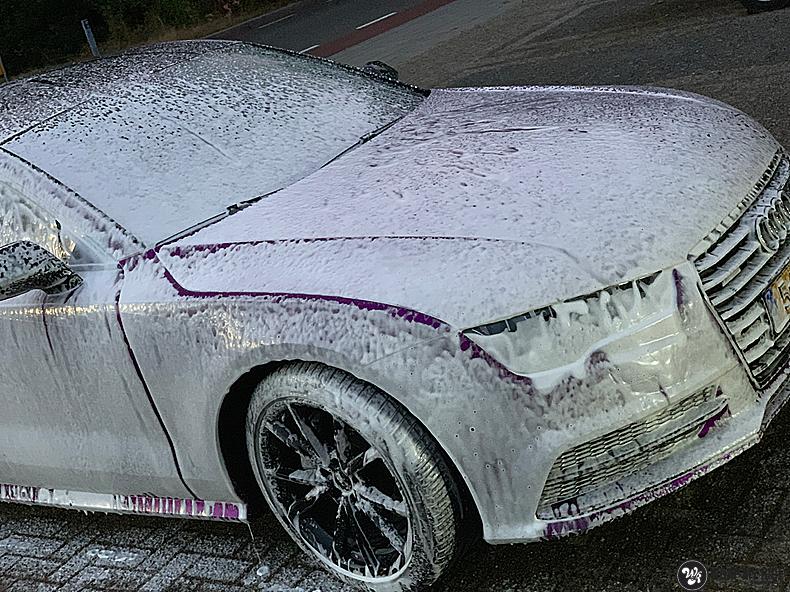 Audi A7 WMR purple grape, Carwrapping door Wrapmyride.nu Foto-nr:13675, ©2021