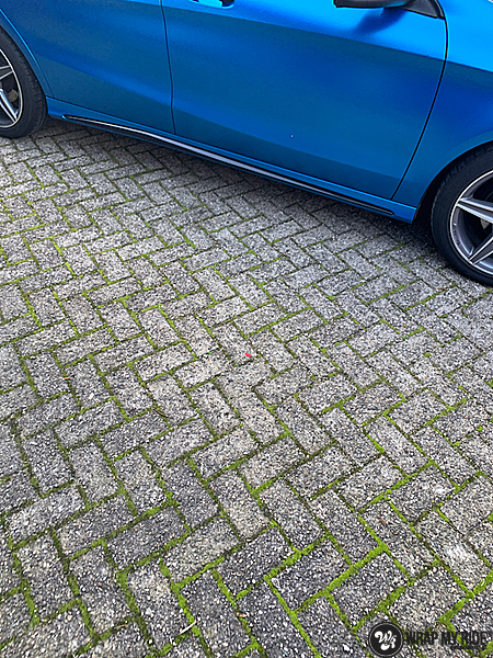 Mercedes CLA Matte Bleu Chrome, Carwrapping door Wrapmyride.nu Foto-nr:13817, ©2021