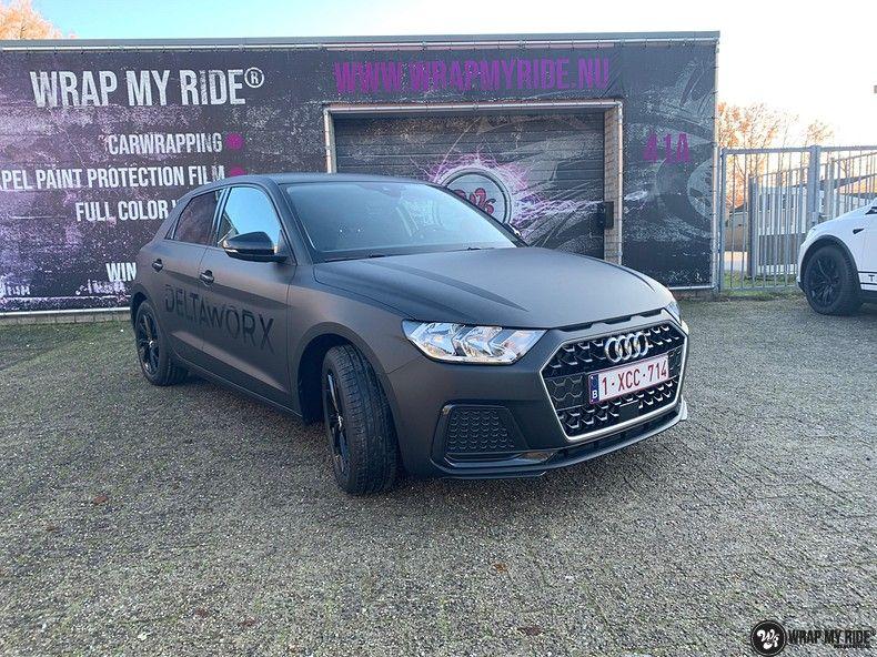 Audi A1 2019 Deltaworx, Carwrapping door Wrapmyride.nu Foto-nr:12951, ©2021