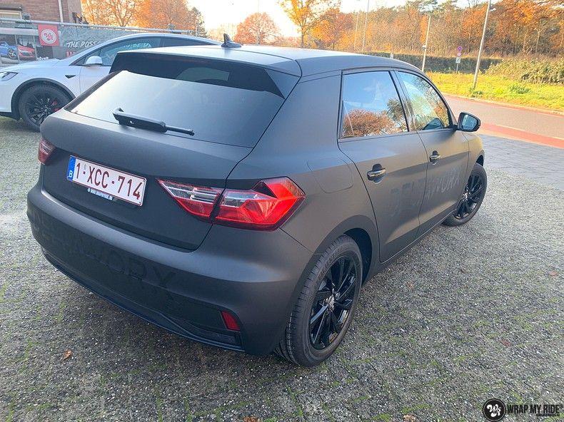 Audi A1 2019 Deltaworx, Carwrapping door Wrapmyride.nu Foto-nr:12959, ©2021