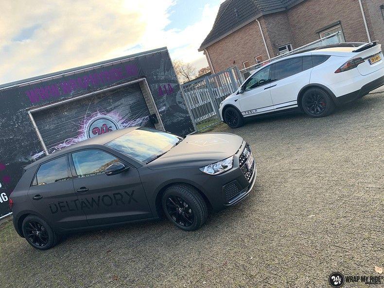 Audi A1 2019 Deltaworx, Carwrapping door Wrapmyride.nu Foto-nr:12962, ©2021