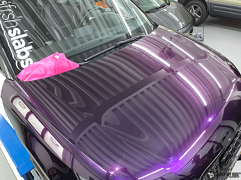 Audi A1 inozotec midnight purple, Carwrapping door Wrapmyride.nu Foto-nr:13714, ©2021