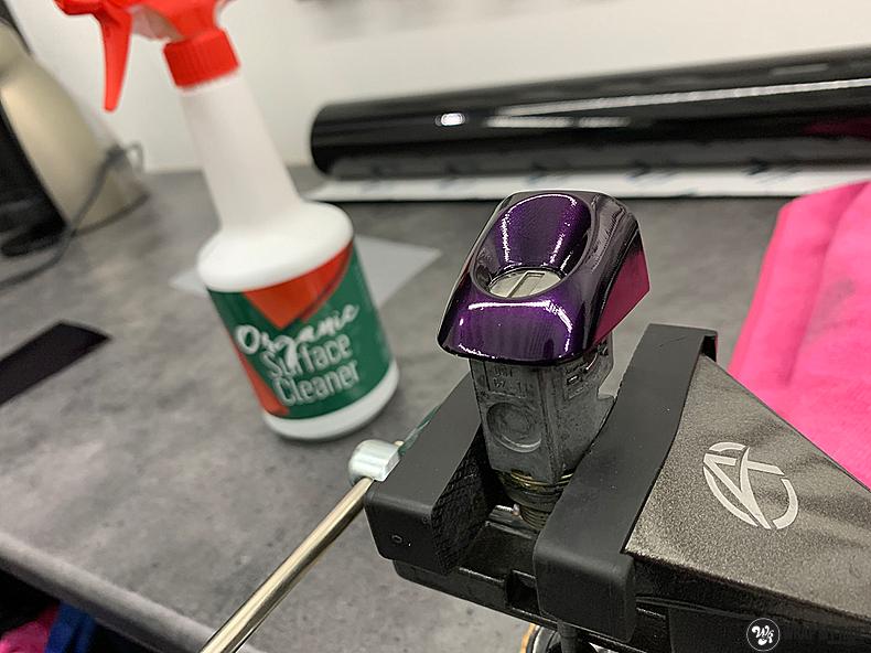 Audi A1 inozotec midnight purple, Carwrapping door Wrapmyride.nu Foto-nr:13723, ©2021