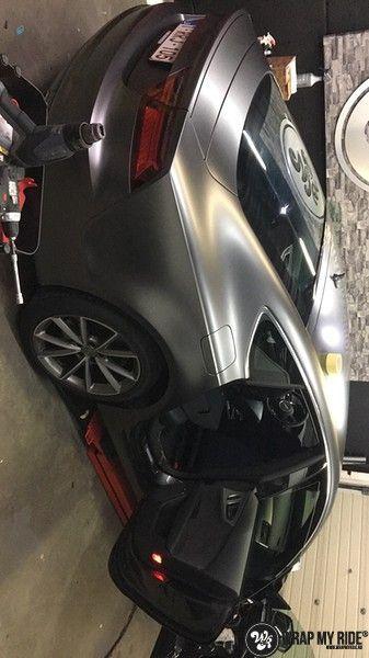Audi A7 S-line Satin Dark Grey, Carwrapping door Wrapmyride.nu Foto-nr:10589, ©2021