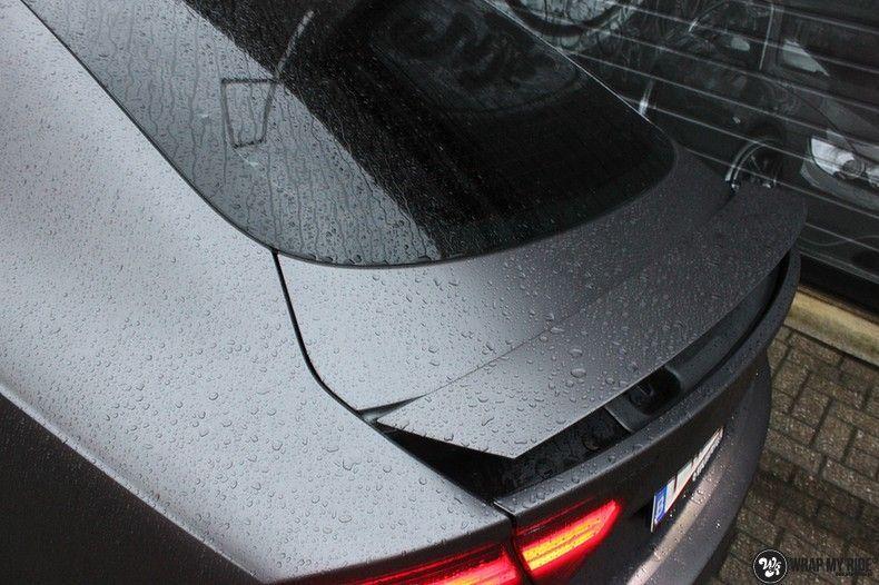 Audi A7 S-line Satin Dark Grey, Carwrapping door Wrapmyride.nu Foto-nr:10567, ©2021