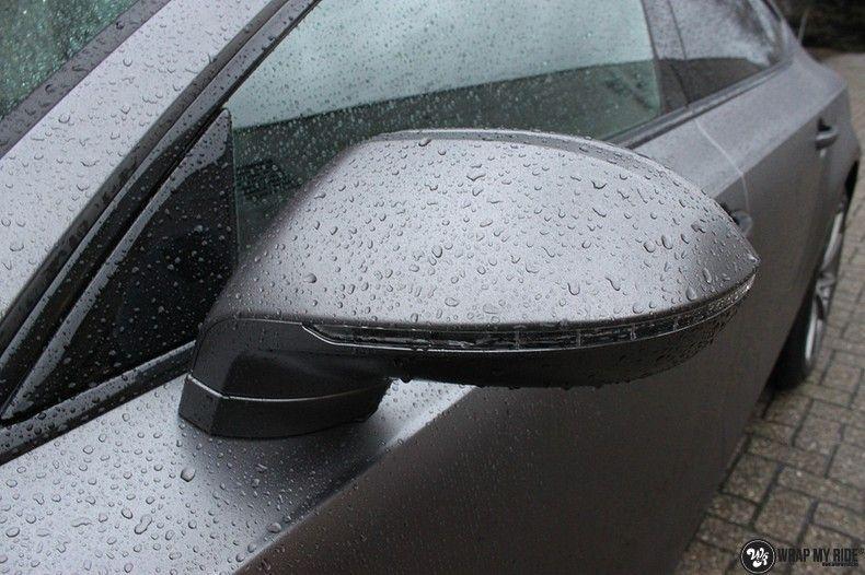 Audi A7 S-line Satin Dark Grey, Carwrapping door Wrapmyride.nu Foto-nr:10565, ©2021