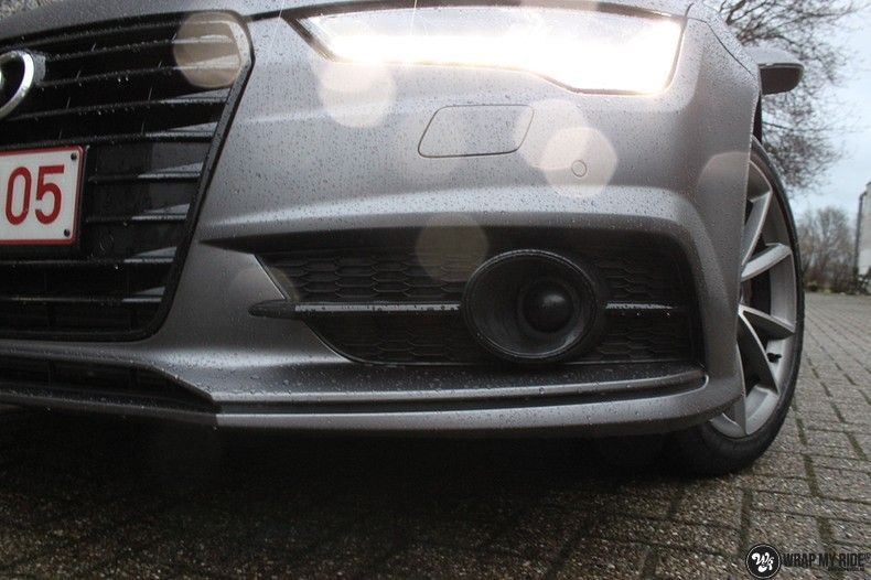 Audi A7 S-line Satin Dark Grey, Carwrapping door Wrapmyride.nu Foto-nr:10561, ©2021