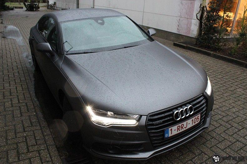 Audi A7 S-line Satin Dark Grey, Carwrapping door Wrapmyride.nu Foto-nr:10560, ©2021