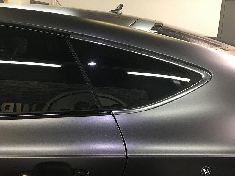 Audi A7 S-line Satin Dark Grey, Carwrapping door Wrapmyride.nu Foto-nr:10585, ©2021