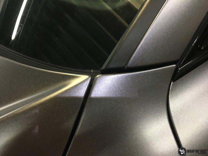 Audi A7 S-line Satin Dark Grey, Carwrapping door Wrapmyride.nu Foto-nr:10582, ©2021