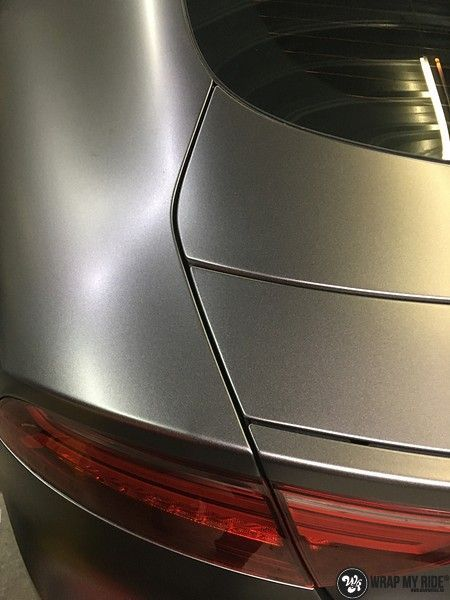 Audi A7 S-line Satin Dark Grey, Carwrapping door Wrapmyride.nu Foto-nr:10587, ©2021