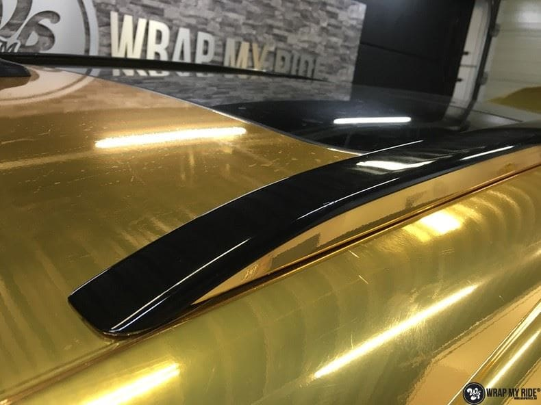 Audi Q7 Gold Chrome, Carwrapping door Wrapmyride.nu Foto-nr:8817, ©2021