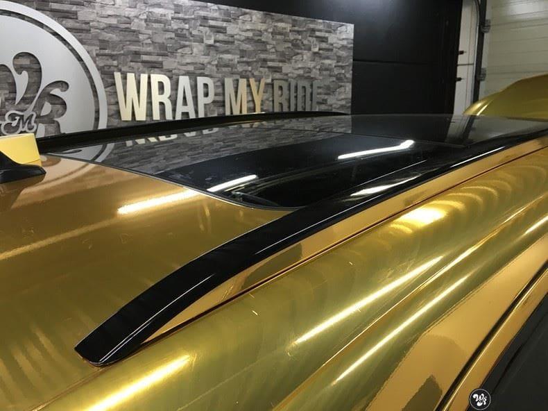 Audi Q7 Gold Chrome, Carwrapping door Wrapmyride.nu Foto-nr:8812, ©2021
