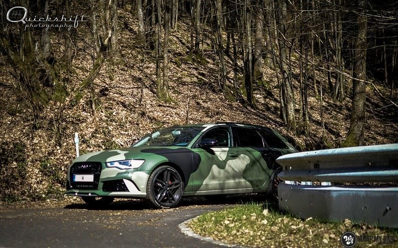 Audi A6 Camo style, Carwrapping door Wrapmyride.nu Foto-nr:9692, ©2021