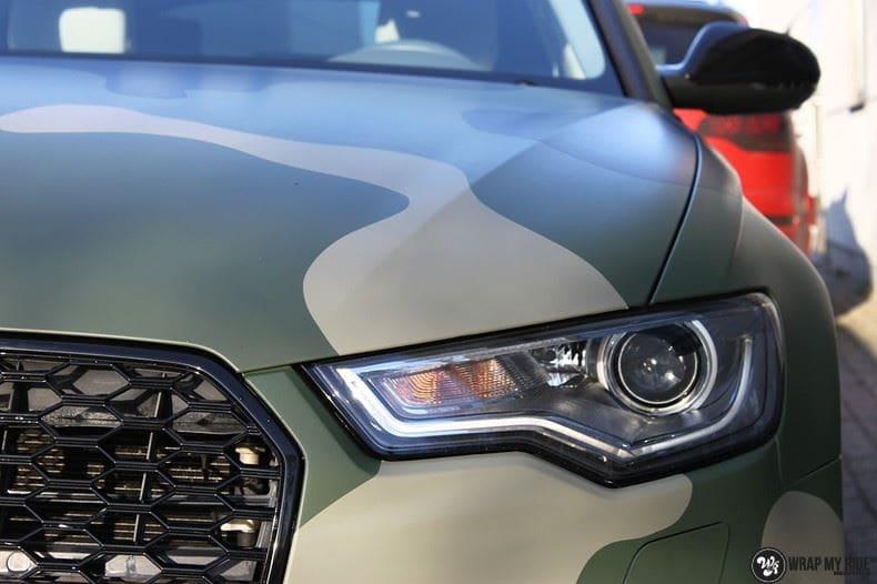 Audi A6 Camo style, Carwrapping door Wrapmyride.nu Foto-nr:9683, ©2021