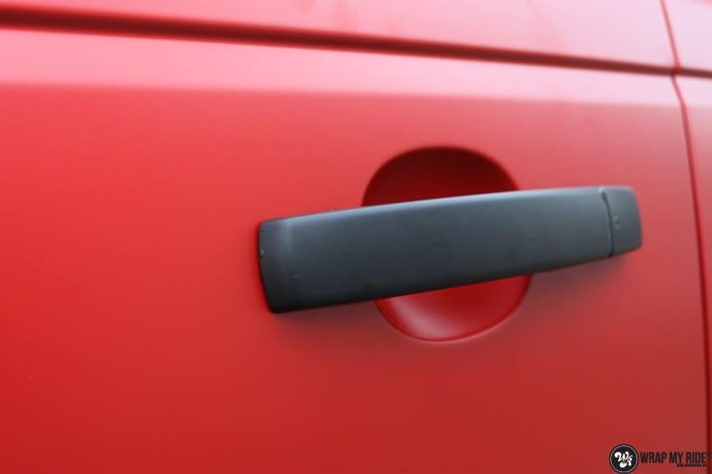 Range Rover Sport in Smoldering Satin Red, Carwrapping door Wrapmyride.nu Foto-nr:10311, ©2021
