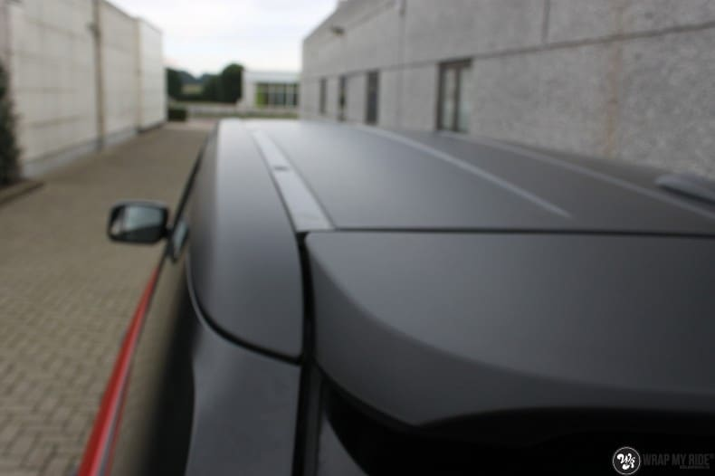 Range Rover Sport in Smoldering Satin Red, Carwrapping door Wrapmyride.nu Foto-nr:10307, ©2021
