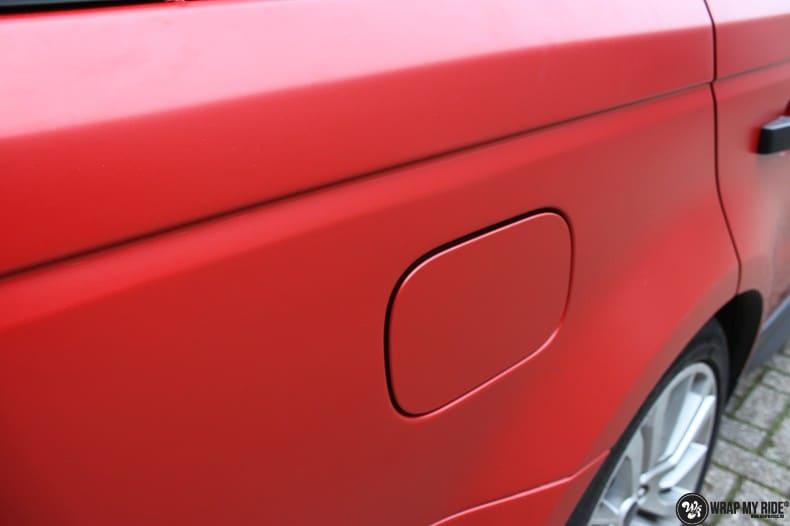 Range Rover Sport in Smoldering Satin Red, Carwrapping door Wrapmyride.nu Foto-nr:10298, ©2021