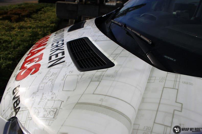 Ford Transit bedrijfswagens voor Bomaes, Carwrapping door Wrapmyride.nu Foto-nr:8671, ©2021
