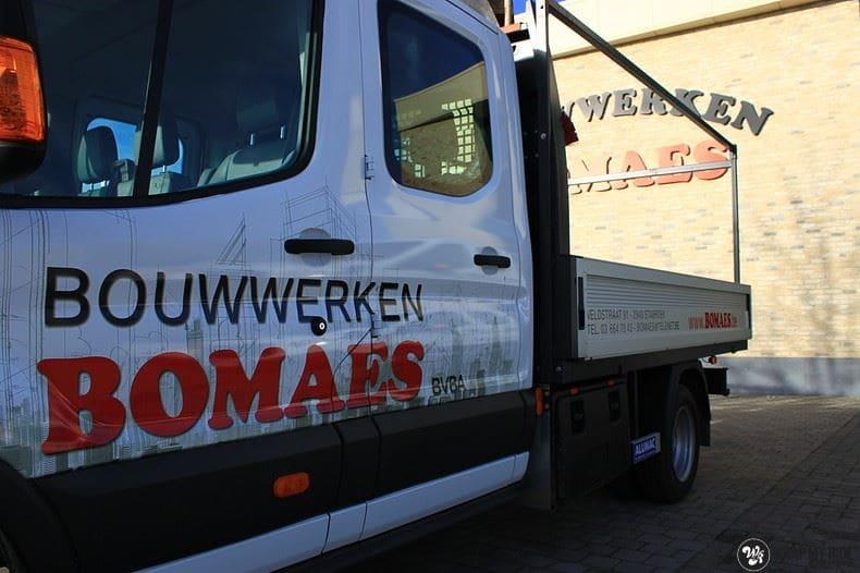 Ford Transit bedrijfswagens voor Bomaes, Carwrapping door Wrapmyride.nu Foto-nr:8669, ©2021