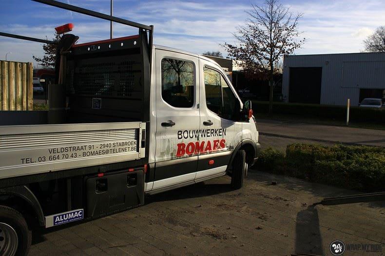 Ford Transit bedrijfswagens voor Bomaes, Carwrapping door Wrapmyride.nu Foto-nr:8666, ©2021