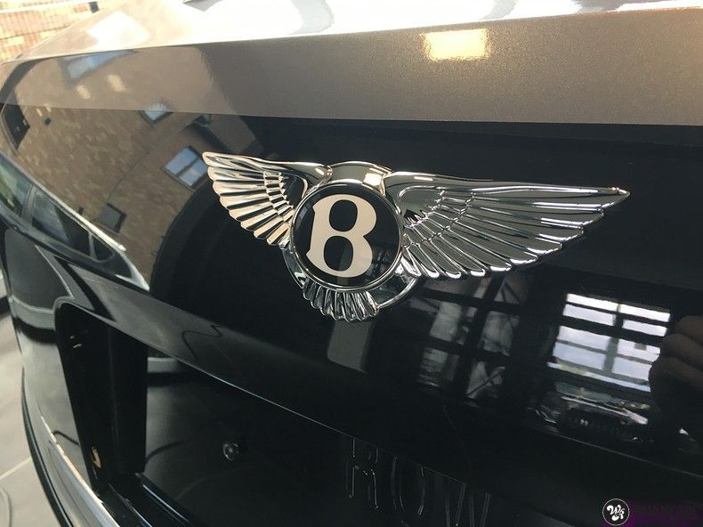 Bentley Flyingspur 2-tone, Carwrapping door Wrapmyride.nu Foto-nr:12453, ©2021