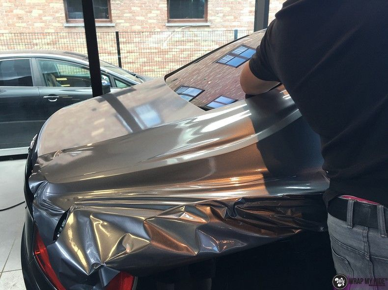 Bentley Flyingspur 2-tone, Carwrapping door Wrapmyride.nu Foto-nr:12451, ©2021
