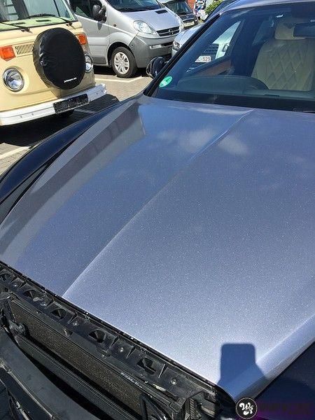 Bentley Flyingspur 2-tone, Carwrapping door Wrapmyride.nu Foto-nr:12450, ©2021