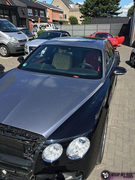 Bentley Flyingspur 2-tone, Carwrapping door Wrapmyride.nu Foto-nr:12449, ©2021
