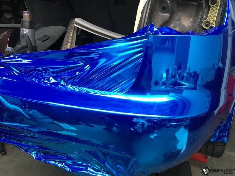 Audi A6 Bleu Chrome, Carwrapping door Wrapmyride.nu Foto-nr:9759, ©2021
