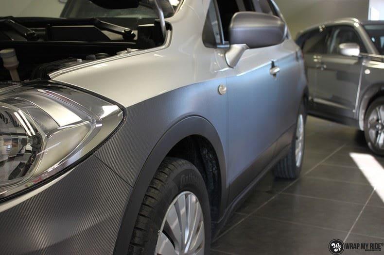 Suzuki S-cross, Carwrapping door Wrapmyride.nu Foto-nr:8294, ©2021