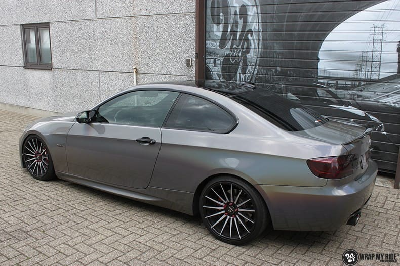 BMW E92 Coupe 3M gloss flip Psycedelic, Carwrapping door Wrapmyride.nu Foto-nr:10256, ©2021