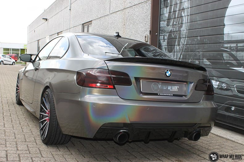 BMW E92 Coupe 3M gloss flip Psycedelic, Carwrapping door Wrapmyride.nu Foto-nr:10255, ©2021