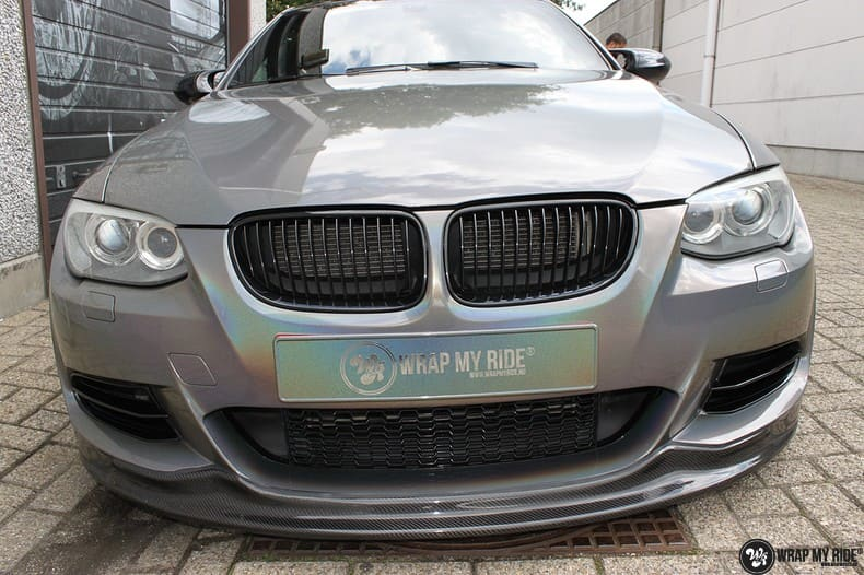 BMW E92 Coupe 3M gloss flip Psycedelic, Carwrapping door Wrapmyride.nu Foto-nr:10253, ©2021
