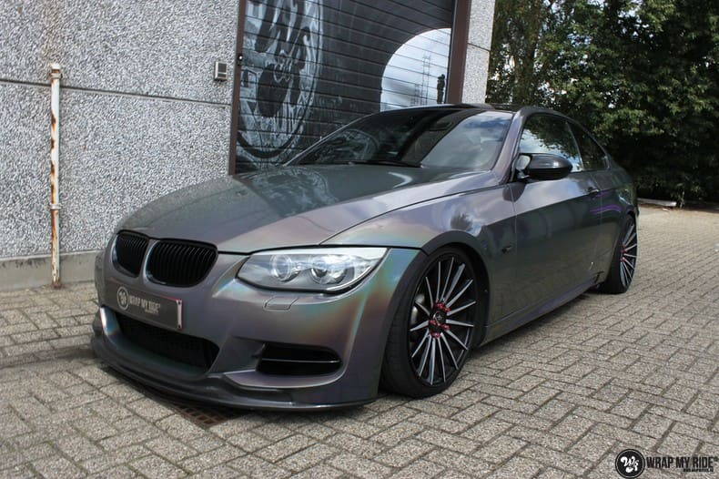 BMW E92 Coupe 3M gloss flip Psycedelic, Carwrapping door Wrapmyride.nu Foto-nr:10247, ©2021