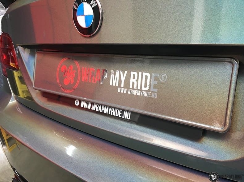 BMW E92 Coupe 3M gloss flip Psycedelic, Carwrapping door Wrapmyride.nu Foto-nr:10257, ©2021
