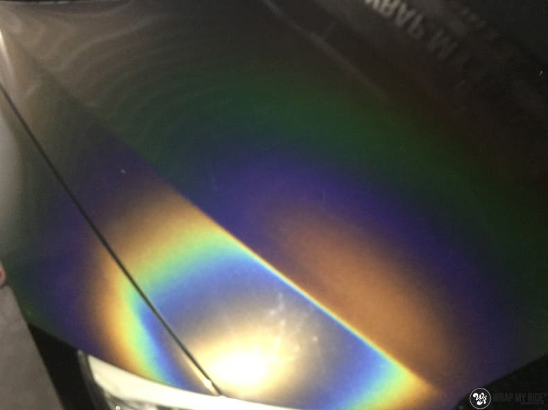 BMW E92 Coupe 3M gloss flip Psycedelic, Carwrapping door Wrapmyride.nu Foto-nr:10265, ©2021