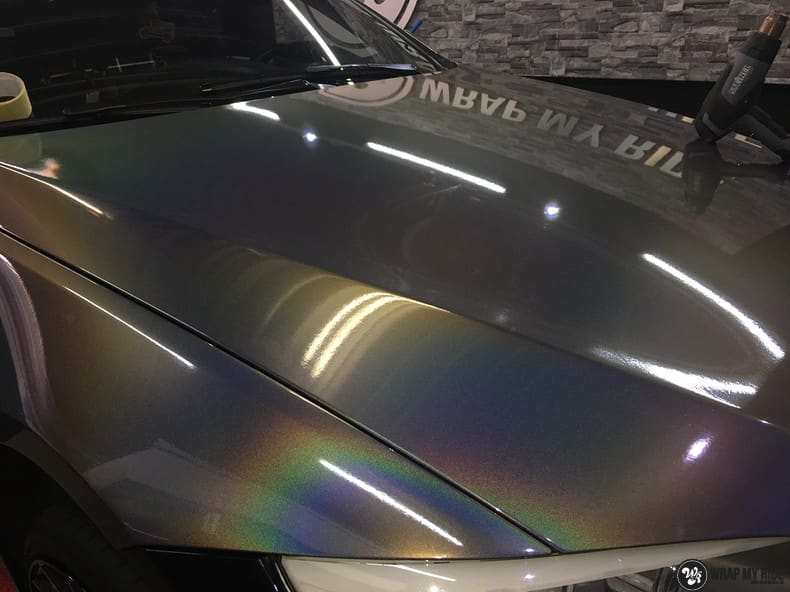 BMW E92 Coupe 3M gloss flip Psycedelic, Carwrapping door Wrapmyride.nu Foto-nr:10267, ©2021