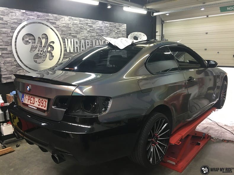 BMW E92 Coupe 3M gloss flip Psycedelic, Carwrapping door Wrapmyride.nu Foto-nr:10264, ©2021