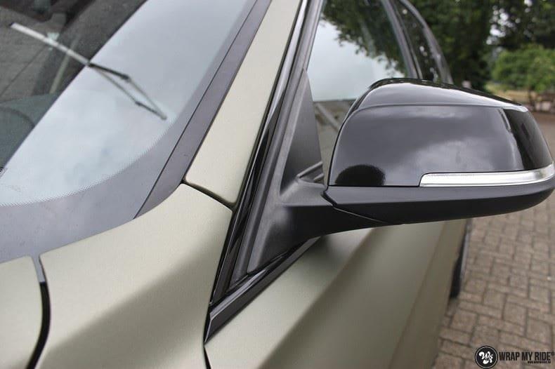 BMW F30 Matte Midnight Sand, Carwrapping door Wrapmyride.nu Foto-nr:9025, ©2021