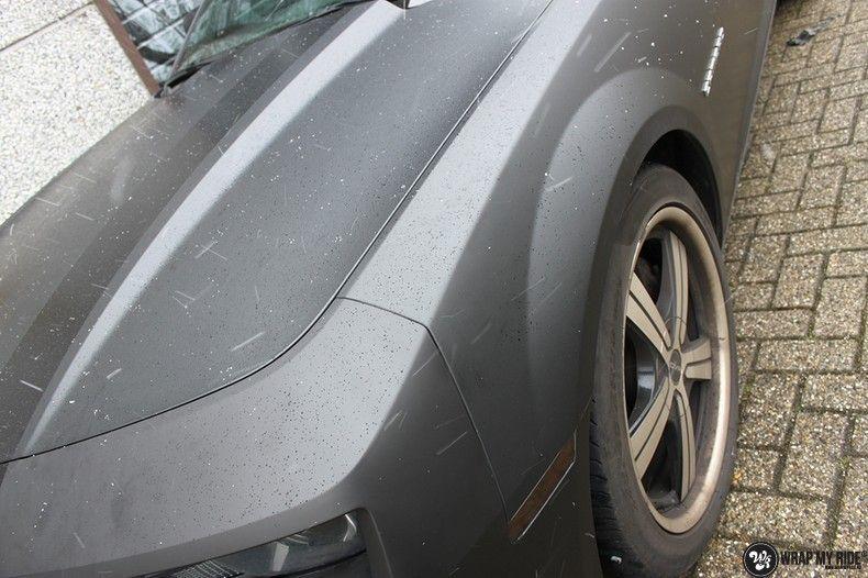 Chevrolet Camaro Matte Deep Black, Carwrapping door Wrapmyride.nu Foto-nr:10757, ©2021