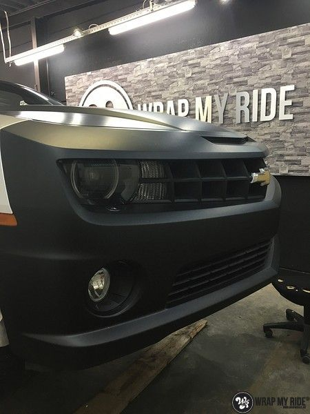 Chevrolet Camaro Matte Deep Black, Carwrapping door Wrapmyride.nu Foto-nr:10774, ©2021