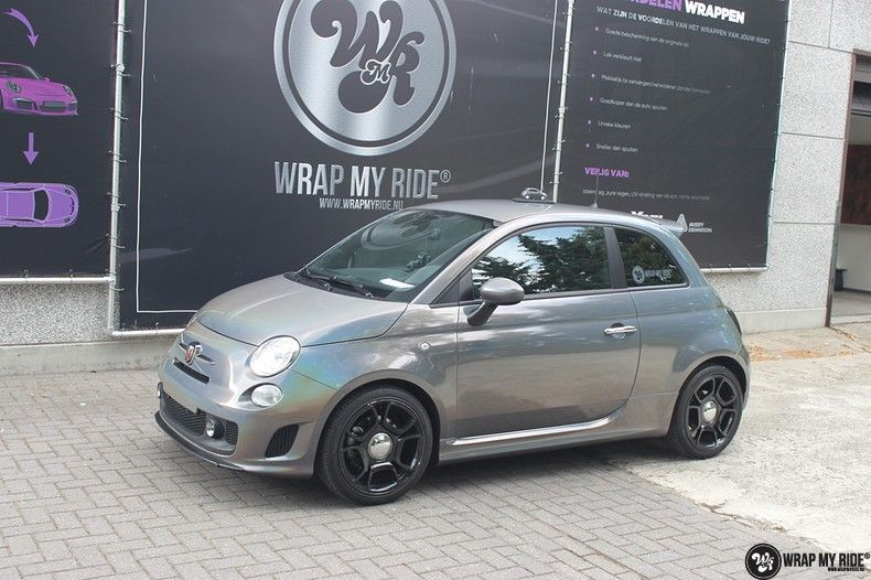 Fiat Abarth 3M gloss Psychedelic Flip, Carwrapping door Wrapmyride.nu Foto-nr:11691, ©2021