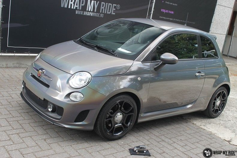 Fiat Abarth 3M gloss Psychedelic Flip, Carwrapping door Wrapmyride.nu Foto-nr:11689, ©2021
